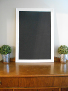 vintage framed chalkboards