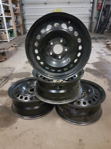 4-15 FORD FOCUS STEEL RIMS