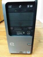 Compaq Desktop Tower; Vista, 2Gb, 200GB, Athlon 64 X2 3800+