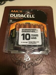 DURACELL AAA Batteries - 12 Pack - Brand New