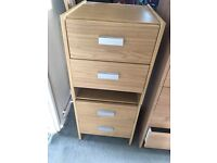 Argos chest of drawers and bedside units