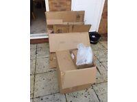 FREE: 8 moving boxes & bubble wrap