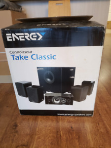 Energy Take Classic Home Theater System - 5.1 Speakers