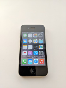 [$60] iPhone 4S – 16GB (Black) Unlocked [MD234C/A] – Like New