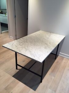 Like new - Marble dining table for sale