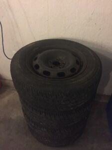"15"" Winter Tires/Rims"