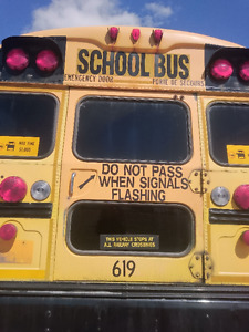 2009 BLUE BIRD SCHOOL BUS parting out