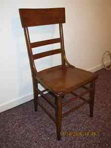 Solid wooden chair Sarnia Sarnia Area image 1