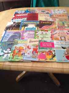 20 FRENCH Edition Kids' Books - Early Grades 2-5
