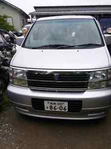 Nissan Elgrand Japanese Right Hand Drive