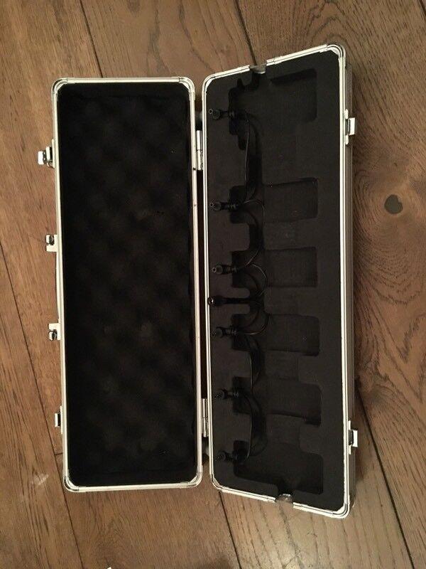 Mooer M6 Firefly Pedal Board Flight Case