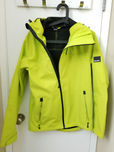 Men's soft shell and base layer jackets