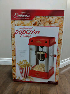 Sunbeam Professional - Theater Style Popcorn Maker 8 Cups - Red