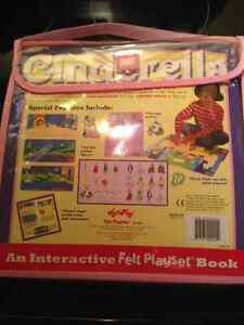 Cinderella interactive felt story book Kingston Kingston Area image 1