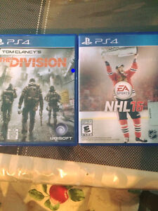 Nhl16 and the division for ps4