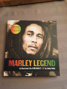 Marley Legend: An Illustrated Life of Bob Marley by James Henke