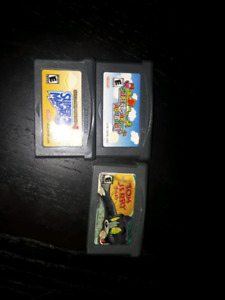 3 Gameboy Advance SP/DS/lite games