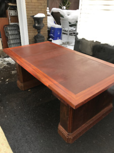 ART DECO DESK / DINING TABLE FRENCH