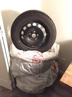 Pirelli Ice Control Winter Tires on Steel Rims (205/55/R16)