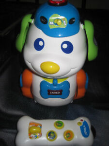VTECH SKIPPY THE SMART PUP W/IR REMOTE CONTROL (WORKS GREAT!)