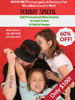 IN STUDIO PROFESSIONAL FAMILY PHOTO SESSION in WOODBINE MALL