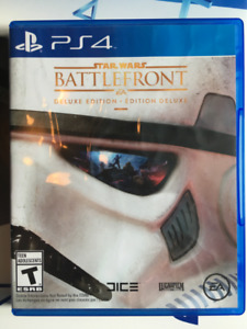 Star wars Battlefront 1 Deluxe edition jeu PS4