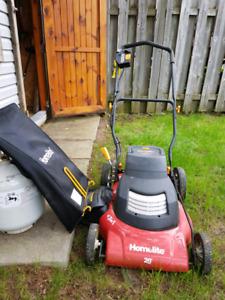 """Homelite cordless lawn mower.  20"""" model UT13222"""
