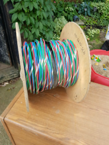 Leftover spool of 4.5ghz 1505a video cable