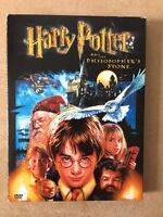 HARRY POTTER and the philosophers stone DVD