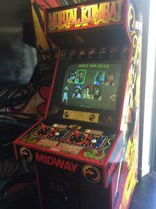 MORTAL KOMBAT VINTAGE ARCADE MACHINE MAME 100+ GAMES
