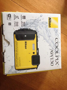 Nikon COOLPIX AW130 Waterproof Digital Camera with Built-In WiFi