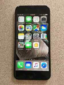 Rogers Black iPhone 6 16GB in great condition $350.00