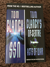 REDUCED PRICE ** Tom Clancy bundle of books (4)