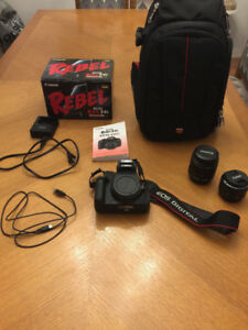 Canon EOS Rebel T4i EF-S 18-55 IS II Kit + Lentille extra