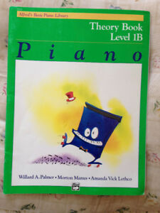 Theory Book Level 1B Piano - Alfred's Basic Piano Library