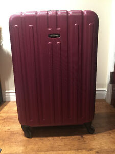 Burgundy Samsonite