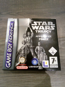 Star wars Apptentice of the force GBA CIB