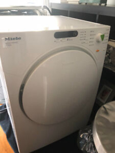 Miele stackable washer/dryer