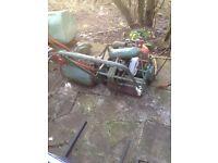 vintage petrol mower