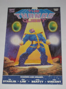 Marvel Comics Thanos Quest#1 (1990 & first print) comic book