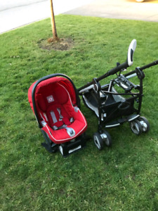 Peg Perego Stroller and Carseat