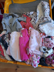 Girls clothes bundles 3-6 and 6-9 months