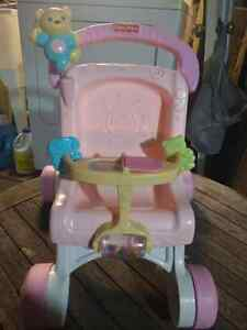 Walker/Toy High Chair