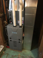 Special spring offer ,Gas Furnace from only  $2100 !!!!
