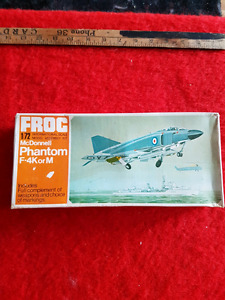 FROG MODEL KIT AIRPLANE NEVER USED