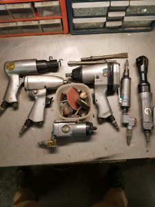 ASSORTED AIR TOOLS FOR SALE, NEW PRICE