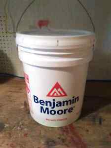 New Sealed 5 Gallons Benjamin Moore Paint.