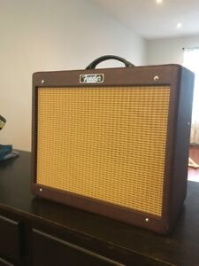 Fender blues JR 3 and pedals