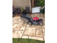 Honda HRX self propelled lawnmower