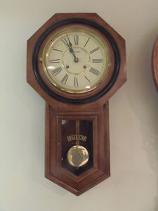 Classic Wall Mount Regulator Clock! Timeless and Attractive! London Ontario image 1